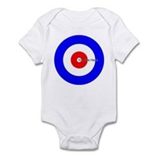 You Are Here Curling House Infant Bodysuit