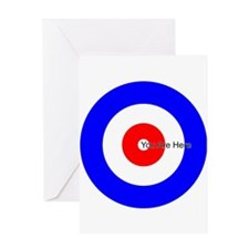 You Are Here Curling House Greeting Card