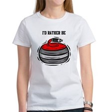 Rather Be Curling Tee