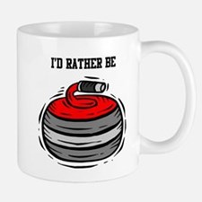 Rather Be Curling Mug