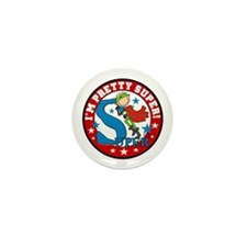 Super Boy Hero Mini Button (10 pack)
