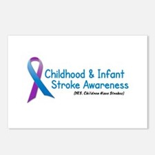 Childhood Stroke Awareness 1 Postcards (Package of