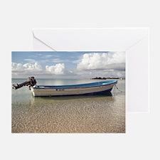 Okinawa Boat Greeting Cards (Pk of 10)