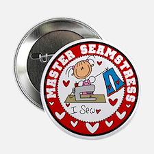 """Master Seamstress 2.25"""" Button"""