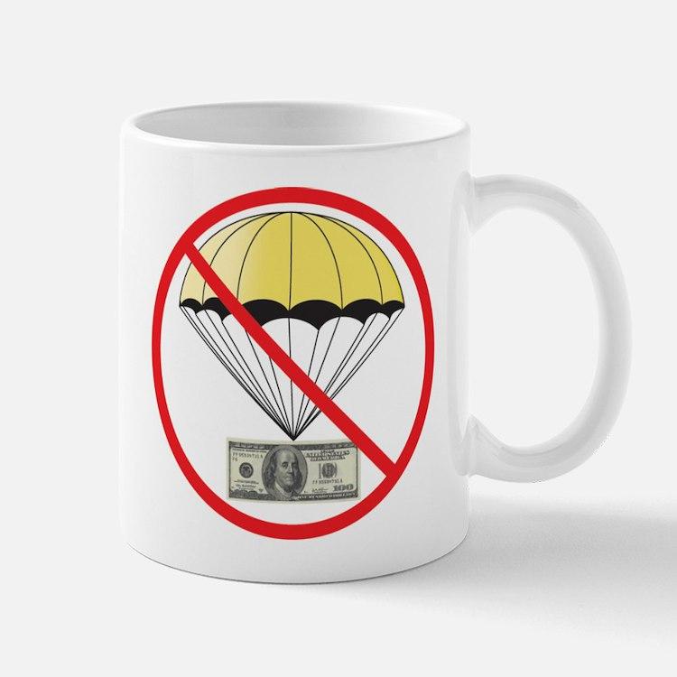 NO GOLDEN PARACHUTES! Mug