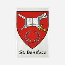 St Boniface Rectangle Magnet (10 pack)