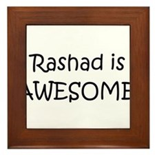 Cute Rashad Framed Tile