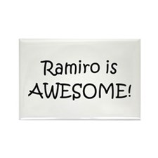 Cute I love ramiro Rectangle Magnet