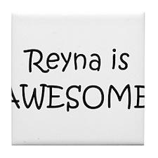 Cool Reyna Tile Coaster