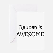 Unique Reuben Greeting Card