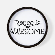 Funny Renee Wall Clock