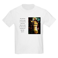 Jesus Light of the World Kids T-Shirt