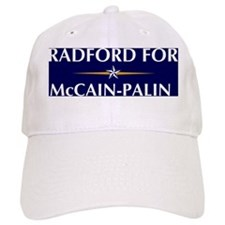 RADFORD for McCain-Palin Baseball Baseball Cap