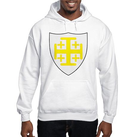 Kingdom of Jerusalem Coat of Hooded Sweatshirt