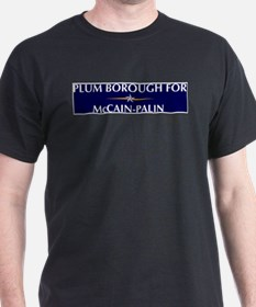 PLUM BOROUGH for McCain-Palin T-Shirt
