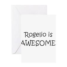 Rogelio Greeting Card