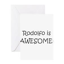 Rodolfo Greeting Card