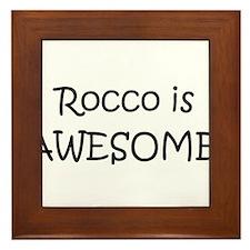 Unique Rocco Framed Tile