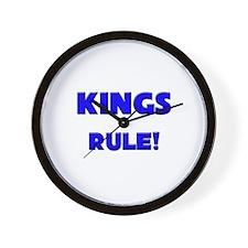 Kings Rule! Wall Clock