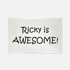 Cute Ricky Rectangle Magnet