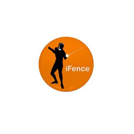 iFence Orange - Mini Button (10 pack)