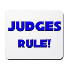 Judges Rule! Mousepad