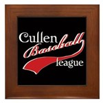 Cullen Baseball League Framed Tile