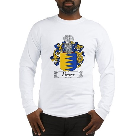 Pesaro Family Crest Long Sleeve T-Shirt
