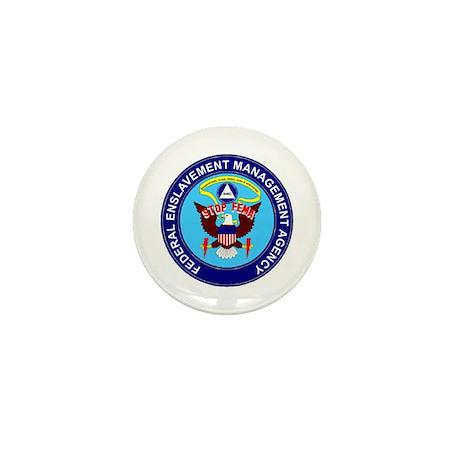 Stop FEMA Federal Enslavement Mini Button (10 pack