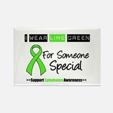IWearLimeGreen (Special) Rectangle Magnet