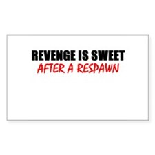 Get Revenge Rectangle Decal