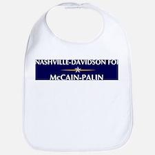 NASHVILLE-DAVIDSON for McCain Bib
