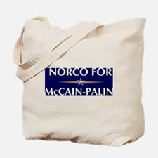 NORCO for McCain-Palin Tote Bag