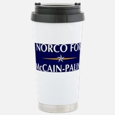NORCO for McCain-Palin Stainless Steel Travel Mug