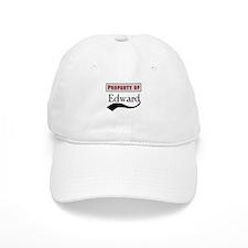 Property of Edward Baseball Cap