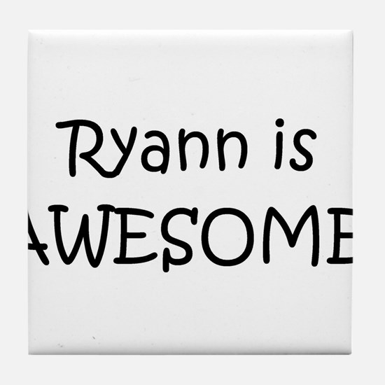 Cute Ryann Tile Coaster