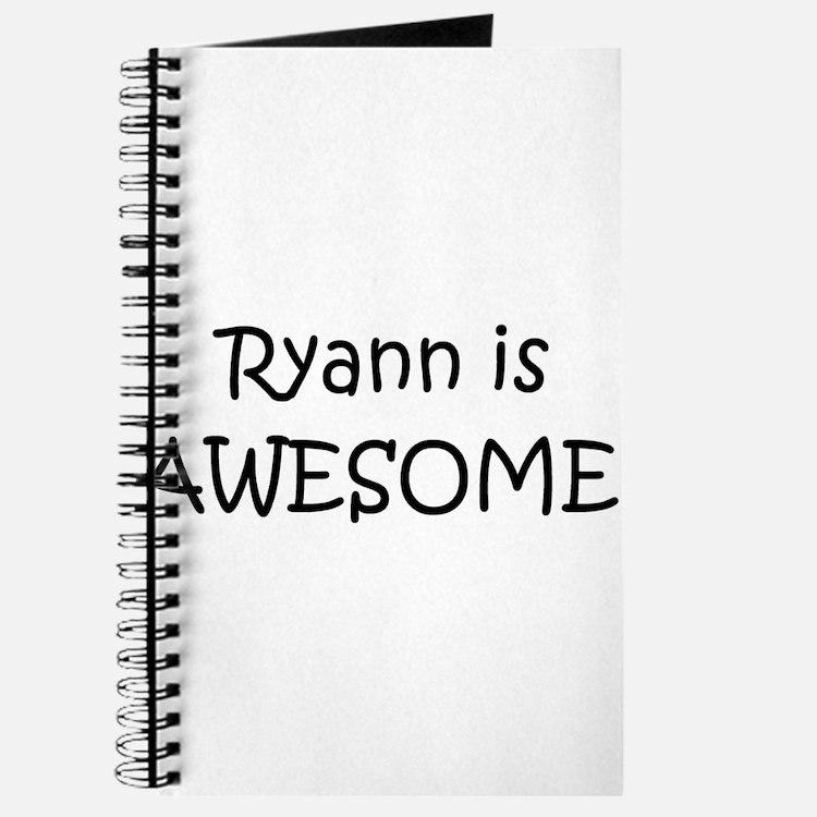 Cute Ryann Journal