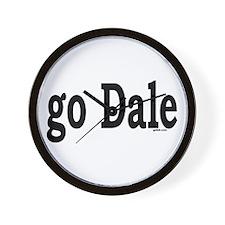 go Dale Wall Clock