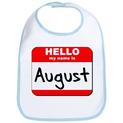 Hello my name is August Bib