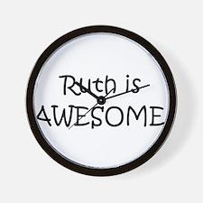 Cute Ruth Wall Clock
