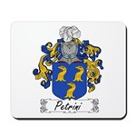 Petrini Family Crest Mousepad
