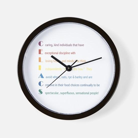 Celiacs Are... Wall Clock