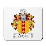 Petrone Family Crest Mousepad