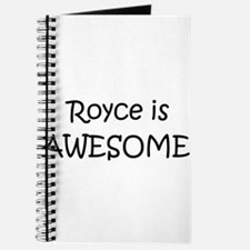 Cute Royce Journal