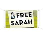 Free Sarah Palin Banner