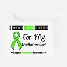 I Wear Lime Green (BIL) Greeting Cards (Pk of 10)