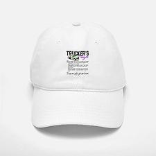 Trucker's Prayer Baseball Baseball Cap