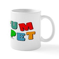 Colorful Trumpet Text Mug