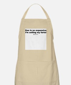 Gas is so expensive - BBQ Apron