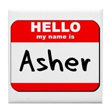 Hello my name is Asher Tile Coaster